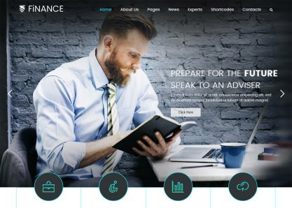 Finance Business WP Theme