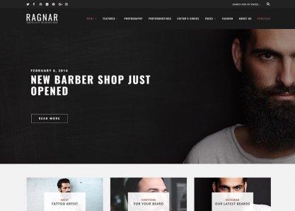 Ragnar – WordPress Blog Theme