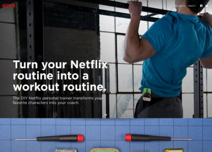 Netflix Personal Trainer