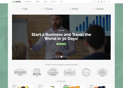 GuruBlog - WordPress Theme