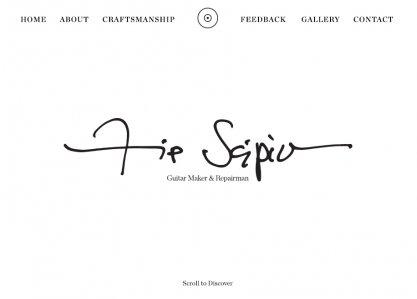 Flip Scipio Guitars