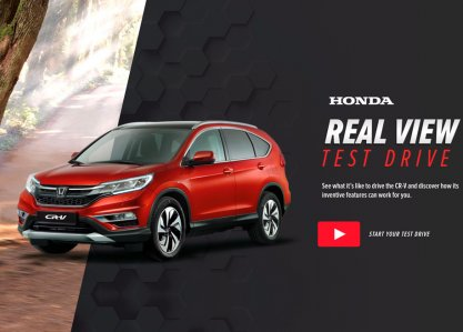 Honda Real View Test Drive