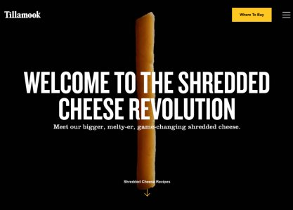 The Shredded Cheese Revolution
