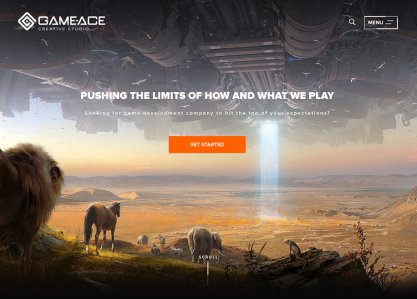 Game-Ace Corporate Website