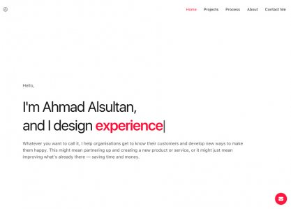 Ahmad Alsultan - UX/ UI Design