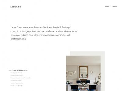 Laure Caye interior designer