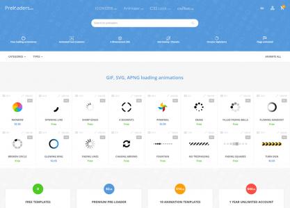 Preloaders.net - AJAX loaders