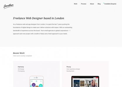 Jonathan Kelley Web Design