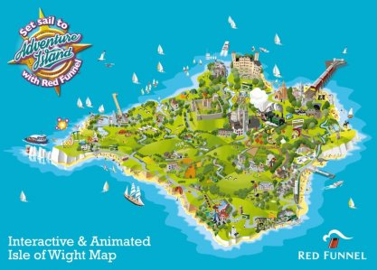 Red Funnel Adventure Island