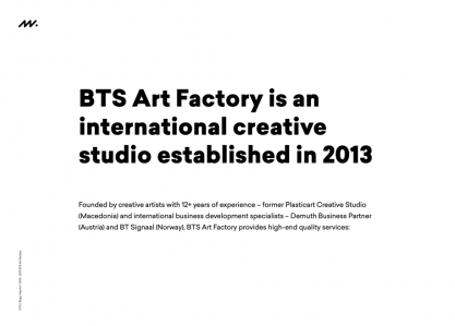 BTS Art Factory