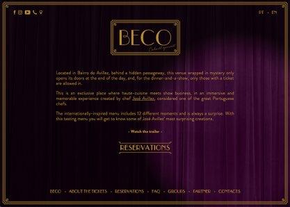 Beco Cabaret Gourmet
