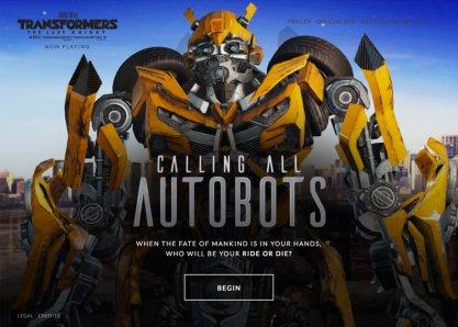Calling All Autobots
