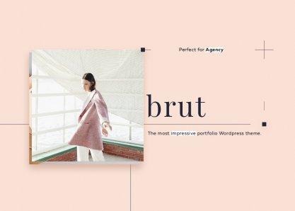 Brut Wordpress Portfolio Theme