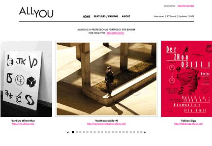 ALLYOU - Online website builder