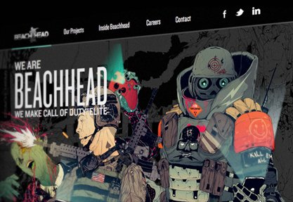 Beachhead Studio Website