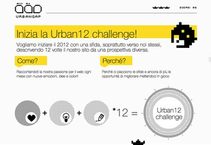 #Urban12 January: Challenge