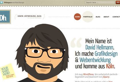 David Hellmann - Grafikdesign, Webdesign...