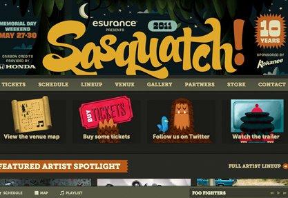 2011 Sasquatch