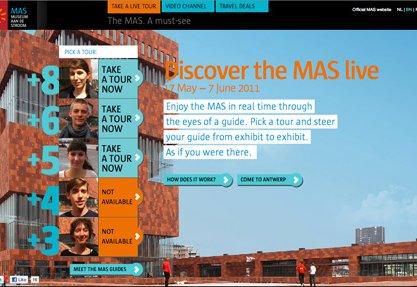 the MAS Live tour