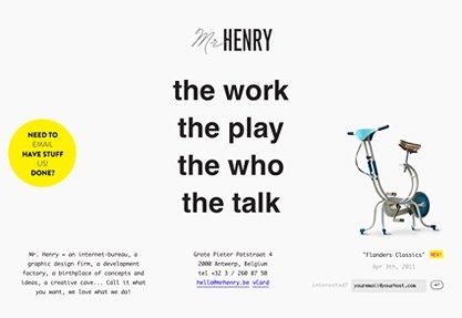 Mr. Henry