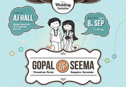 Gopal Raju and Seema Wedding