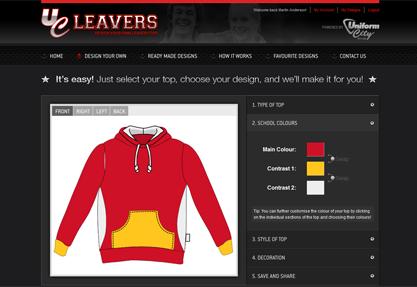 UC Leavers - Design your own school leavers