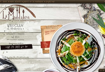 La Maddalena: Mediterranean cuisine.