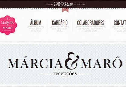 Márcia & Marô Recepções