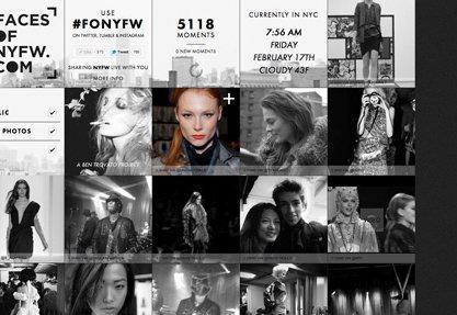 Faces of NYFW