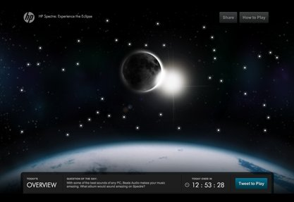 HP Spectre: Experience the Eclipse