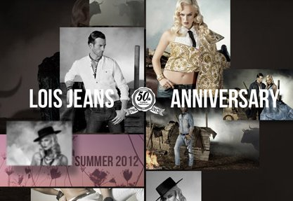 Lois Jeans 50th Anniversary