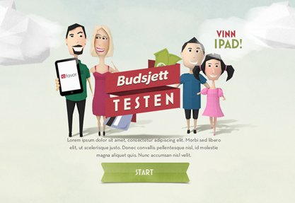 LOfavør Budsjettesten (budget test)