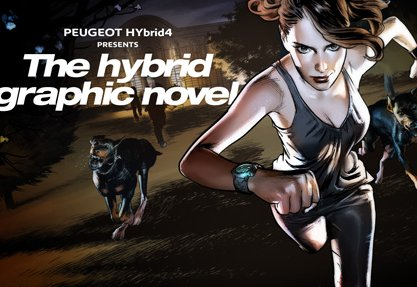 The Hybrid4 Graphic Novel