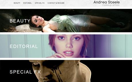 Andrea Steele Makeup