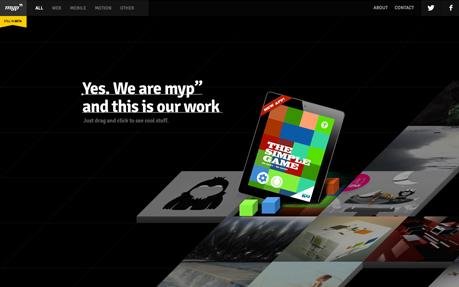 Medios y Proyectos Website