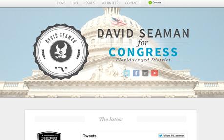 David Seaman for Congress