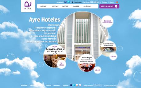 Ayre Hoteles Webiste