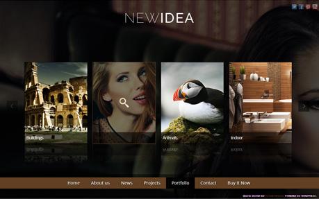 New Idea Responsive Wordpress Theme