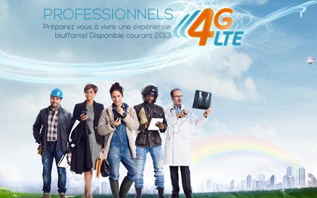 Bouygues Telecom - 4G LTE