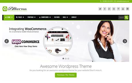 Alterna - Retina Responsive Multi-Purpose WordPress Theme