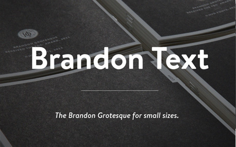 Brandon Text Micro Site