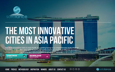 Asia Most Innovative Cities
