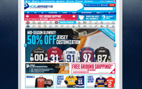 IceJerseys.com - Official Fan Shop