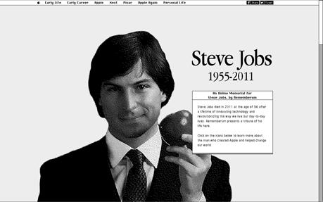 Steve Jobs - Online Memorial