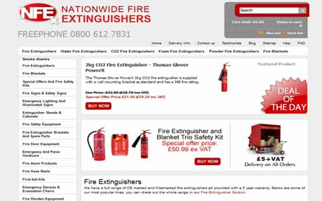 Nationwide Fire Extinguishers