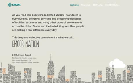 EMCOR Annual Report