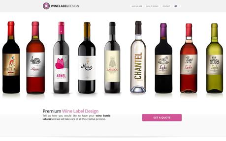 Wine Label Design Awwwards Nominee