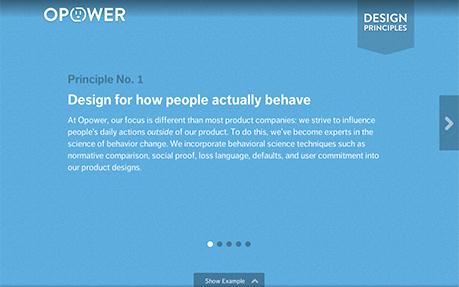Opower Design Principles