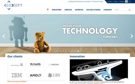 Luxoft Corporate Website