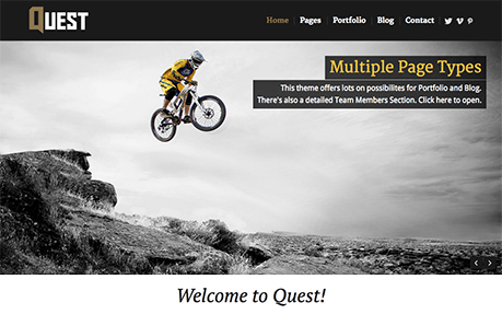 Quest - All Purpose WP Theme